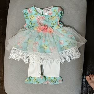 Little lass baby matching set
